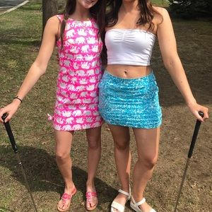 Blue Lilly Pulitzer Skirt